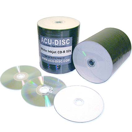 Inkjet Printable CD R