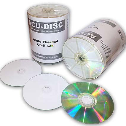 Thermal Printable CD R