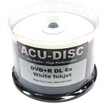 <b>ACU-DISC</b> : ACU-DISC DVD+R DL Silver Thermal