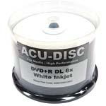 <b>ACU-DISC</b> : ACU-DISC DVD+R DL Silver Thermal